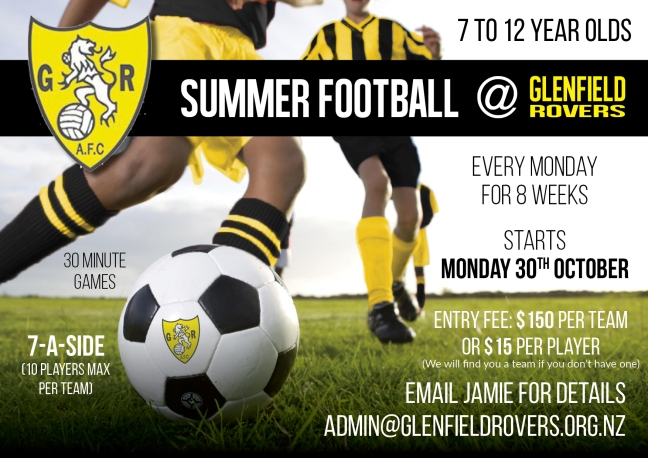 Summer Soccer jnr