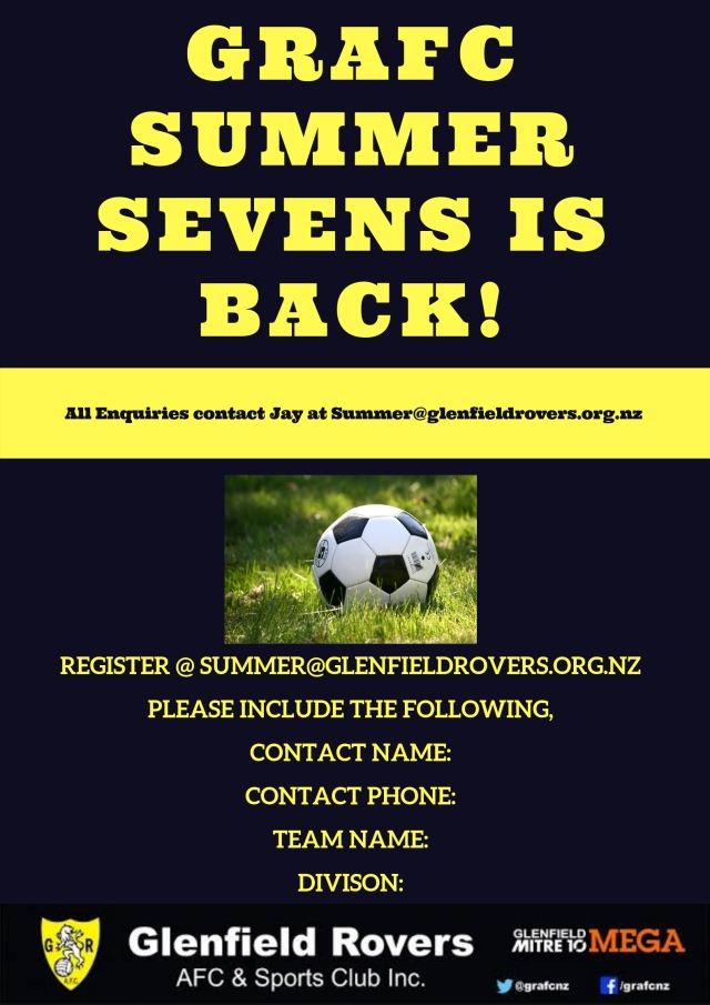 GRAFC SUmmer Sevens is Back!